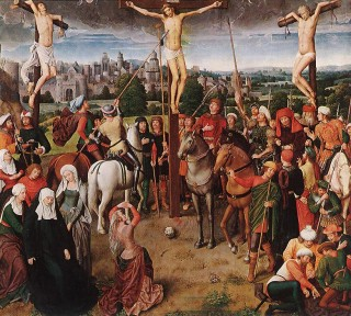 The Two Thieves Crucified with Christ