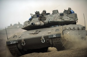 Israel Defense Forces tank, Wikipedia image