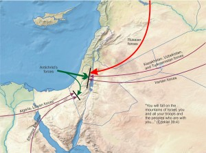 Russian forces stopped at mountains of Israel
