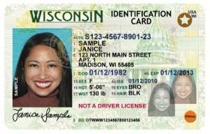 Real ID card for Wisconsin, DMV.org