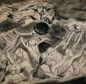 William Blake, The Last Trumpet