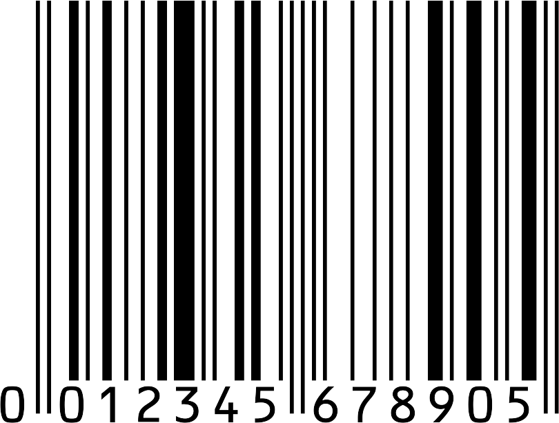 Barcode transparent background