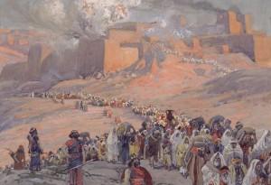 Flight of the Prisioners, Artist: Tissot