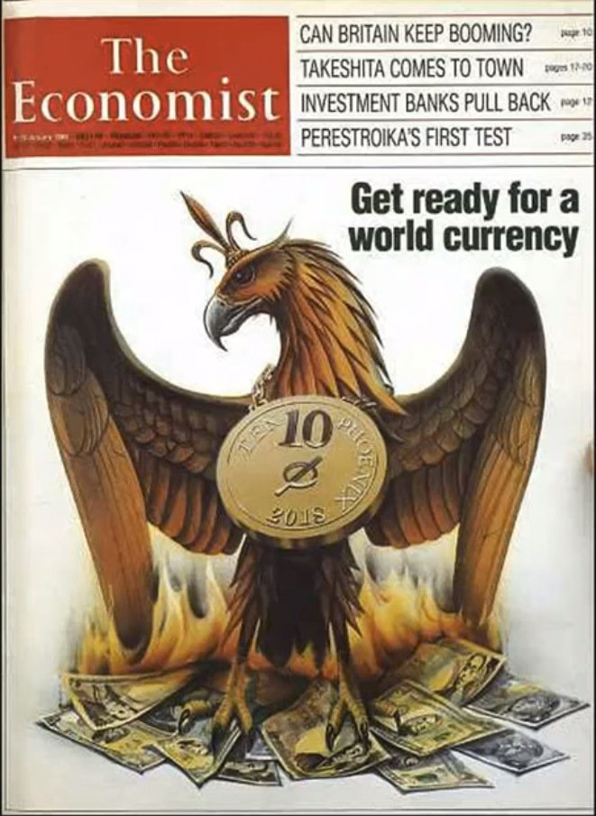 The Phoenix world currency, The Economist, 01/9/88, Vol. 306, pp 9-10