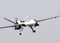 Unmanned drone aircraft