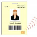 RFID badge & electronic circuit
