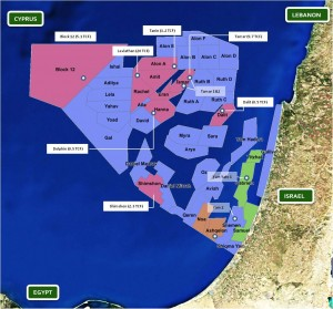 Adira Energy, Israel off-shore energy fields