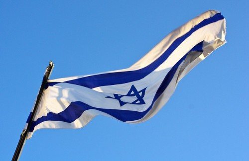 Israeli flag, Kyle Taylor, Flickr