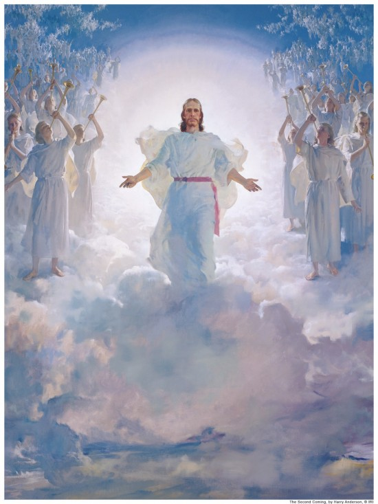 The second coming, Harry Anderson artist