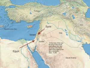 Attack of Egypt & Syria at the End