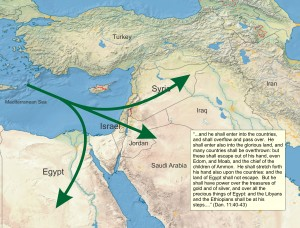 The Antichrist counterattacks against Egypt & Syria