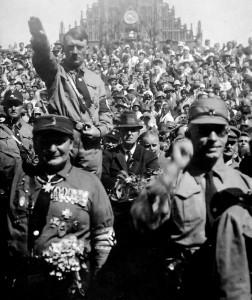Hitler worship, 1928