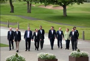 G-8 Summit leaders, June 18, 2013