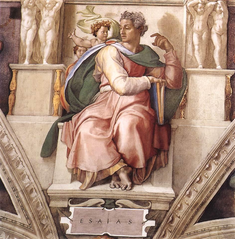 Isaiah - Michelangelo