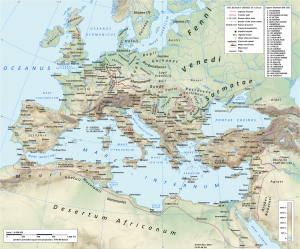 Roman Empire in AD 125