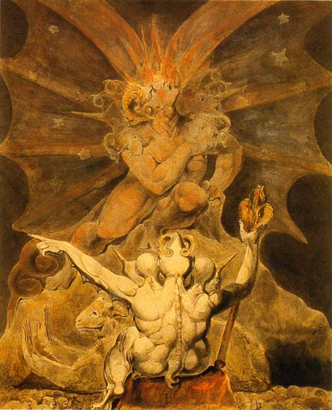 The number of the beast is 666, William Blake