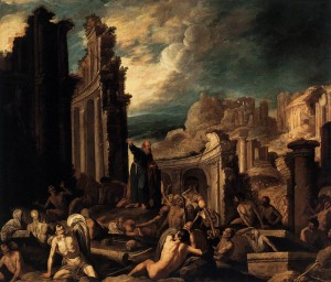 The vision of Ezekiel - Collantes Francisco