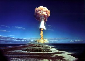 French polynesia nuclear test, 1 MT
