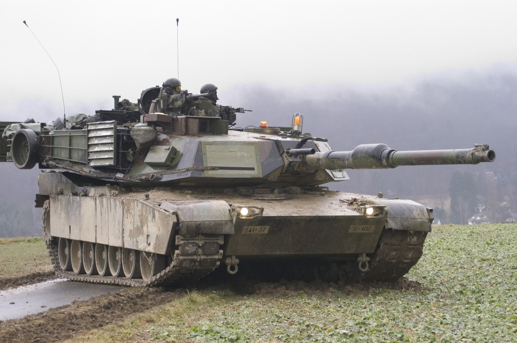U.S. Army Abrams M1A1 tank, Dept. of Defense
