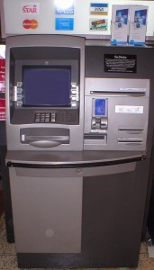 An NCR Personas 75-Series interior, multi-function ATM