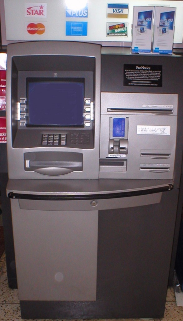 An NCR Personas 75-Series interior, multi-function ATM, Wikipedia