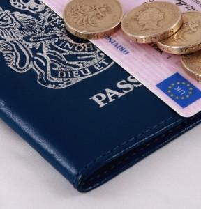 Identity documents and money, Image courtesy of Graeme Weatherston at FreeDigitalPhotos.net