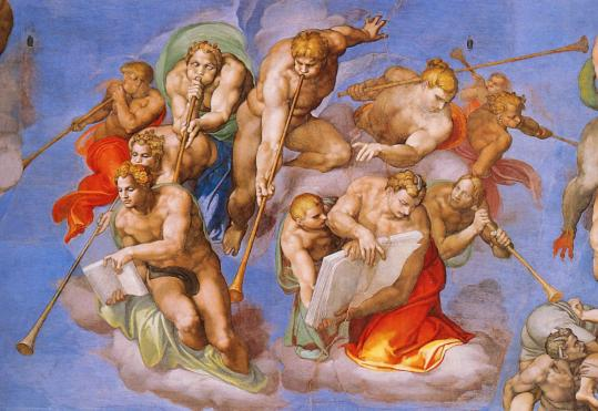 The Trumpets Sound, Michelangelo