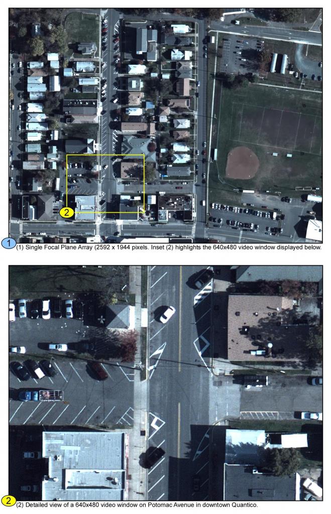 ARGUS-IS, Gigapixel surveillance system, DARPA image