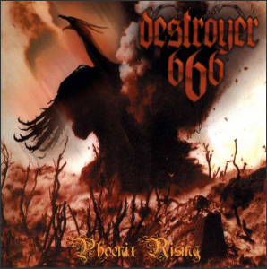 Destroyer 666 album cover, Phoenix Rising