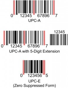 Forms of the UPC Barcode