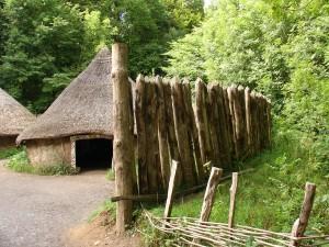 St Fagans Celtic village palisade, Wikipedia
