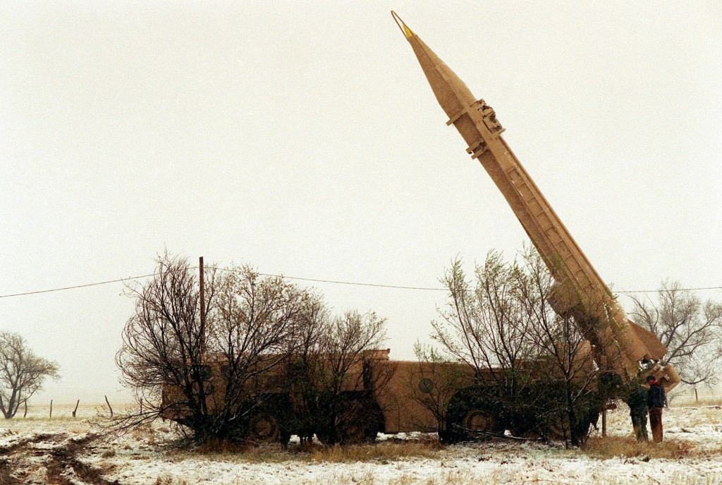 Scud missile launcher, Wikipedia
