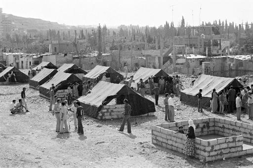 Baqa'a refugee camp, Jordan, UN