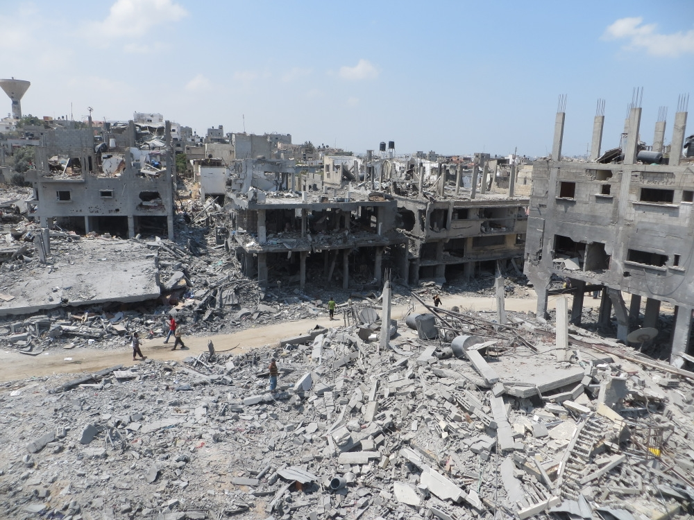 Gaza war, 2014, Beit Hanun