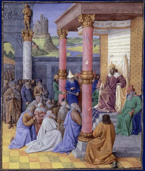 Cyrus II le Grand et les Hébreux, Jean Fouquet