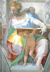 The Prophet Daniel, by Michelangelo - Wikipedia