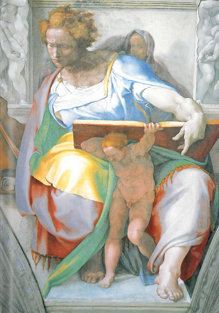 The Prophet Daniel, by Michelangelo - Wikipedia