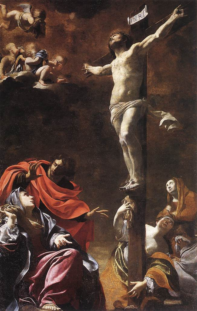The Crucifixion (1622) by Simon Vouet, Wikipedia