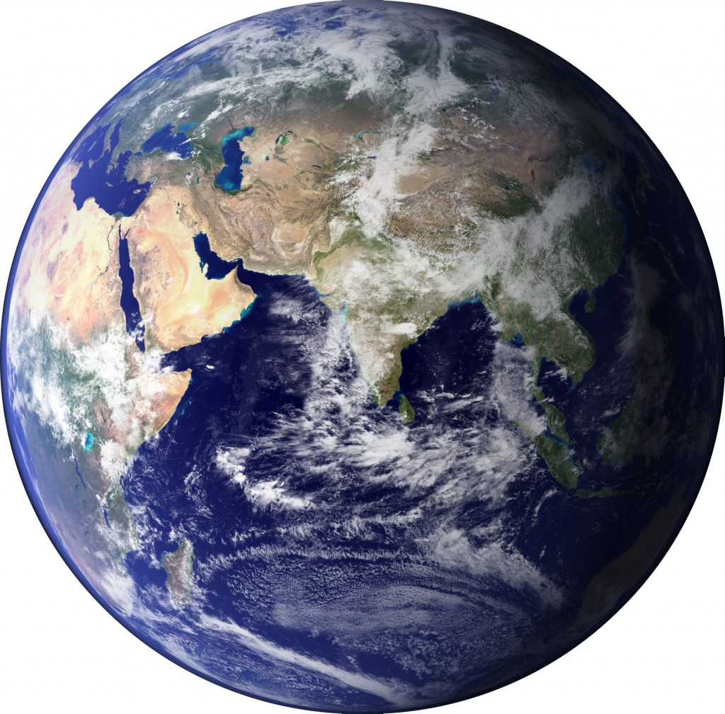 Earth, Blue Marble, NASA image