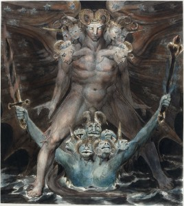 Dragon and Beast from the Sea, William Blake