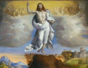 The Ascension of Christ, by Garofalo