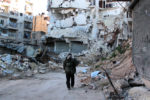 The Destruction in Aleppo, Syria