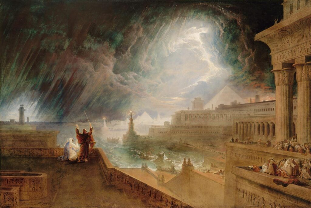 John Martin - The Seventh Plague - 1823